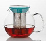 de Pot van de Thee van het Glas 600ml Borosilicate voor Theeblaadje, Stovetop, Theepot