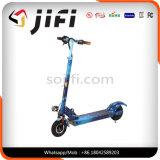 200mm PUの車輪のFoldableフィートの発育阻害の蹴りの通りの土のスクーター