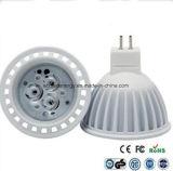 Ce ed indicatore luminoso dei Rhos GU10 3W LED