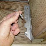 Clavos de suspensión de viguetas galvanizadas para la construcción y así sucesivamente