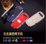 2,4 pouces Full Metal, IP56 Watter preuve Téléphone mobile