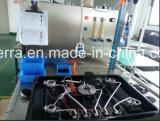 Cinque bruciatori costruiti in fresa del gas con l'apparecchio di cucina di sostegno della vaschetta del ghisa (JZS4502A)