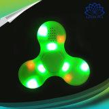 De snelle Lagers friemelen Speelgoed friemelen de Spinner van de Vinger van de Hand met Spreker Bluetooth