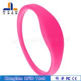 Wristband colorido de alta frecuencia simple del silicón de RFID