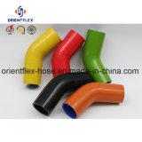 45 resistenti a temperatura elevata tubo flessibile del silicone del gomito da 90 gradi