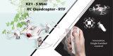 mini RC compas gyroscopique de rtf 2.4GHz 4CH 6-Axis de bourdon de 07321s/contrôle/prise d'une seule main d'altitude