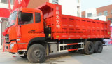 Dongfeng 6*4 10는 덤프 트럭 25 톤 판매를 위한 25 T 쓰레기꾼 트럭 선회한다