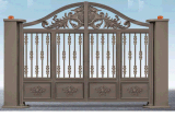 Alumínio de alumínio Segurança Porta de jardim Portão Porta Porta de moradias