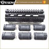 tessitore di lunghezza del Carbine del fucile 6.7inch Ar15m4/guida di alluminio Handguard quadrato di Picatinny
