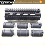 6.7inch 알루미늄 Ar15m4 소총 카빈총 길이 직공 또는 Picatinny 쿼드 가로장 Handguard