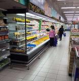 베스트셀러 호화스러운 강직한 Multideck는 슈퍼마켓 전시 냉장고를 사용했다