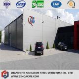 Entrepôt soudé de bâti en acier de qualité supérieur pour l'usine d'usine