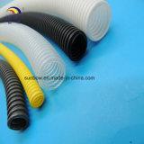 Tubo di plastica ondulato per il tubo di drenaggio del giardino