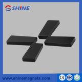 Permanenter seltene Masse NdFeB trapezoider Magnet mit schwarzer Epoxidbeschichtung