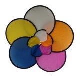 Großhandelsfaltender Nylonfrisbee mit Firmenzeichen-Drucken