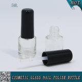 mini bottiglia di vetro libera su ordinazione del polacco di chiodo del gel 5ml