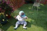Azulejo de jardim de pavimento de grama artificial com apoio permeável