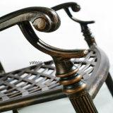Presidenza esterna classica della mobilia della fusion d'alluminio di stile per l'iarda domestica