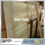 최신 판매 벽 도와를 위한 Polished 백색 대리석 오닉스 석판