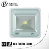 La longue puce CRI>70 de Sanan de durée de vie imperméabilisent les dispositifs élevés d'éclairage par projecteurs d'IP65 50W
