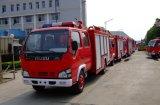 緊急のレスキュー6000L水泡タンクIsuzuの消火活動のトラック