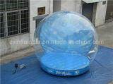 Fabbrica umana gonfiabile del globo della neve di formato della decorazione di natale diretta