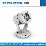 Luz de projecção exterior IP65 Holofote RGB LED 3em 18W
