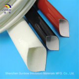 Rote silikonumhüllte Fiberglas-Hülse für Rohr-Isolierung