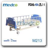 의학 침대, 간호 침대, 2개의 크랭크 Ce&ISO를 가진 환자를 위한 수동 병상
