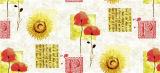 Mantel impreso PVC en la boda del rodillo/la decoración casera