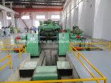 proceso auto de la máquina el rebobinar del acero inoxidable de 3-10m m que raja