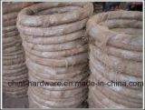 De arame de ferro galvanizado Hot-Dipped vinculativo o fio de ligação do fio de alimentação diretamente da fábrica de construção