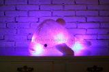La peluche d'ardore del delfino del LED dell'indicatore luminoso del giocattolo variopinto creativo dell'animale farcito gioca 18-Inch