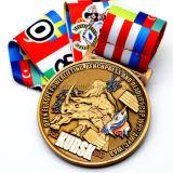 Medalla de premio de deporte personalizada de Metal 3D 5k Running Sport