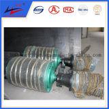 Antriebszahnscheiben-versehen elektrische Riemenscheiben-Kopf-Förderanlagen-Riemenscheibe mit Innere und heraus Motor mit Seiten