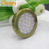 가구를 위한 플라스틱 청동 2W LED 빛