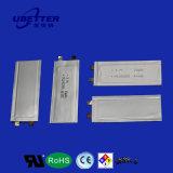 Pl042255 3.7V 15mAh de litio polímero de litio para los productos usable de la batería