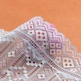 Шнурок тканья картины цвета свежей сливы ткани шнурка шнура пурпуровый