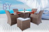 Таблица патио террасы гостиницы виллы напольные 1 и мебель 5-Части 4 стулов