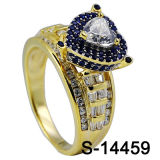Zilver 925 van de Ring van de Diamant van de Juwelen van Hotsale Hip Hop van de fabriek