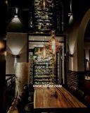 (SL-8304)ホテルのレストランのホーム食事の家具の純木のダイニングテーブル