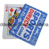 Cartões de jogo plásticos profissionais do póquer do cartão de jogo