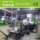 Línea de la granulación de la película plástica de los PP del PE/máquina de granulación de la película plástica
