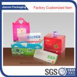 Подгоняйте прозрачный PVC складывая ясную пластичную коробку