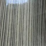 Azo Free Standard Wood-Grain PU Couro para sapatos (HS-M240)