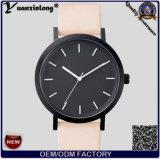 Yxl-317 de zwarte Heetste Riem van het Leer van het Horloge van de Dames van de Manier van de Polshorloges van het Gezicht het Horloge van het Paard