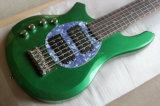 Гитара зеленого бонго нот/6-String Hanhai левая электрическая басовая