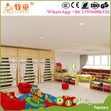 子供、子供の調査の机および椅子のための木およびプラスチック演劇表