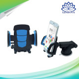 Supporto del supporto dell'automobile del supporto del telefono delle cellule di rotazione di 360 gradi con il pollone appiccicoso