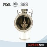 Предохранительный клапан нержавеющей стали санитарный пневматический (JN-SV2001)